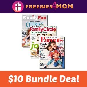 $10 Family Fun, Family Circle & Parents Bundle