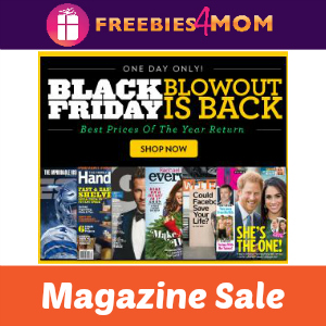 ICYMI Black Friday Magazine Sale