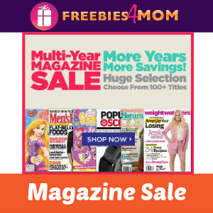 Multi-Year Magazine Sale
