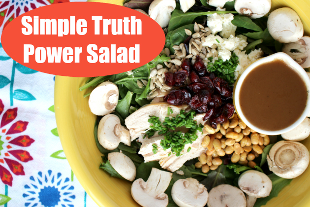 Simple Truth Power Salad & over $100 in Kroger Coupons