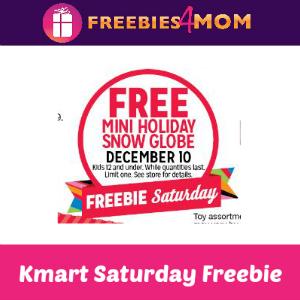 Free Mini Holiday Snow Globe at Kmart