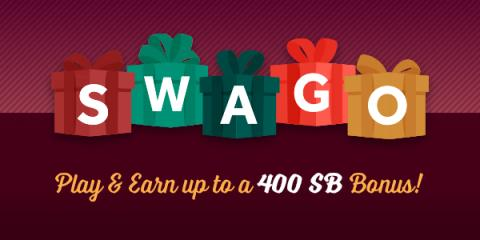 Unwrap your Swago Bonus