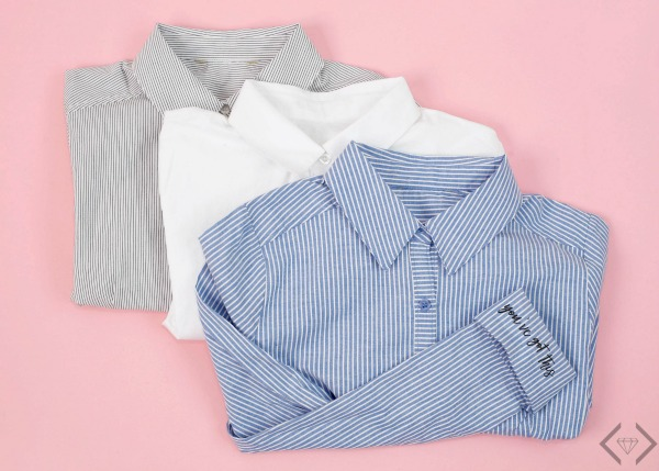 Inspirational Cuff Button-down Shirts $29.95