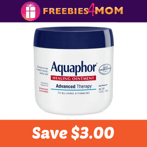 Coupon: $3.00 off one Aquaphor