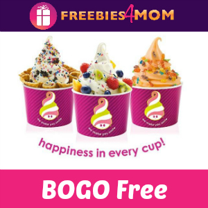 BOGO Free Frozen Yogurt at Menchie's