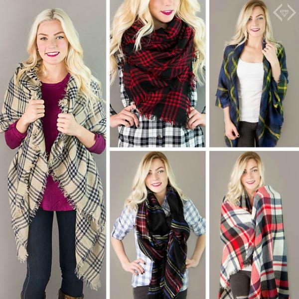 $9.99 Blanket Scarves