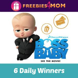 Sweeps Barbara's Boss Baby Movie Giveaway