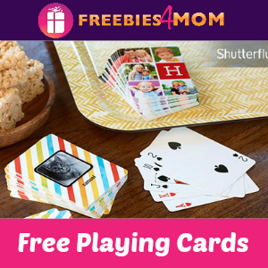 Free Shutterfly Playing Cards ($19.99 Value)