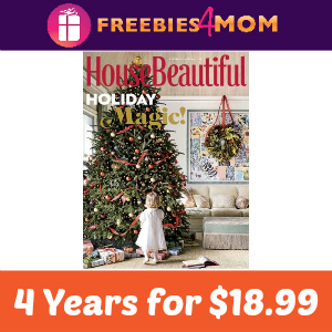 Magazine Deal: House Beautiful 4 Years $18.99