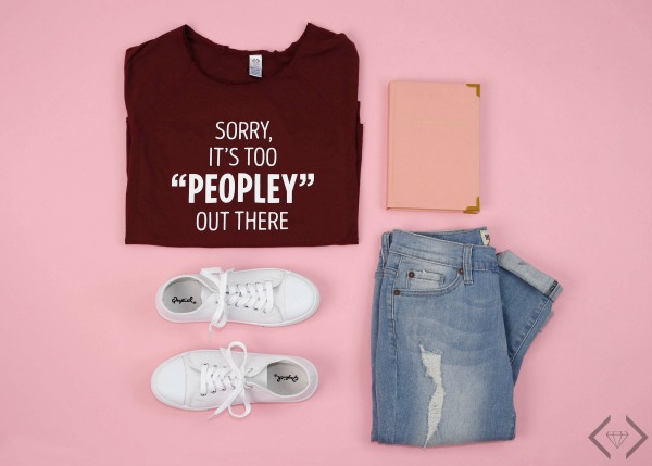 $15 Off Too Peopley Tee & Sweatshirt