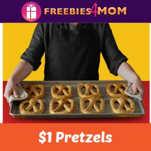 $1 Pretzels Every Tuesday at Pretzelmaker