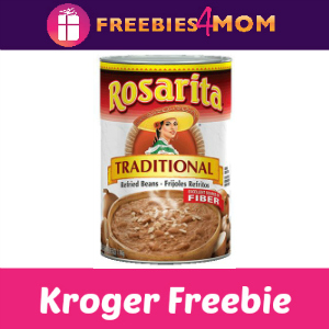 Free Rosarita Refried Beans at Kroger