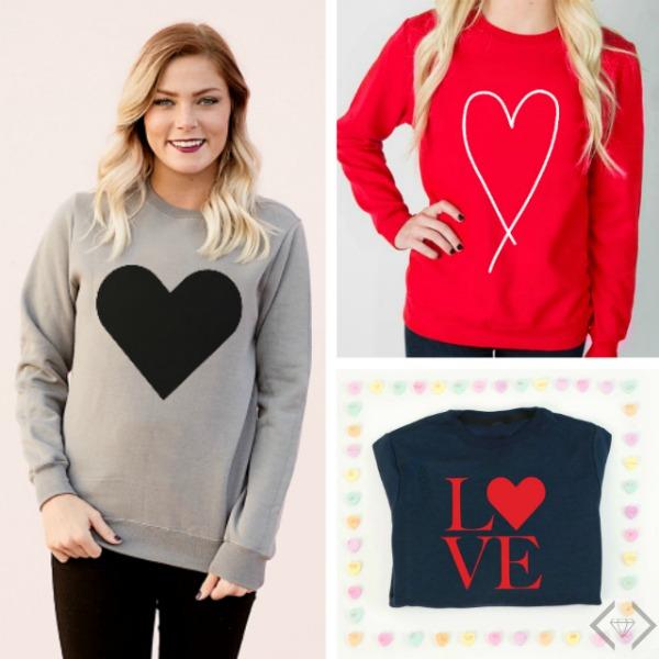 50% off Valentine's Wear (Starting at $5)