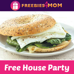 Free House Party: Thomas' Bagel Thins