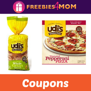 Save with Udi's Gluten Free Coupons