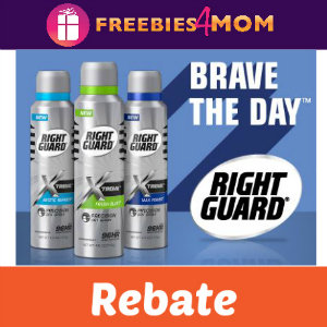Rebate: Free Right Guard Xtreme