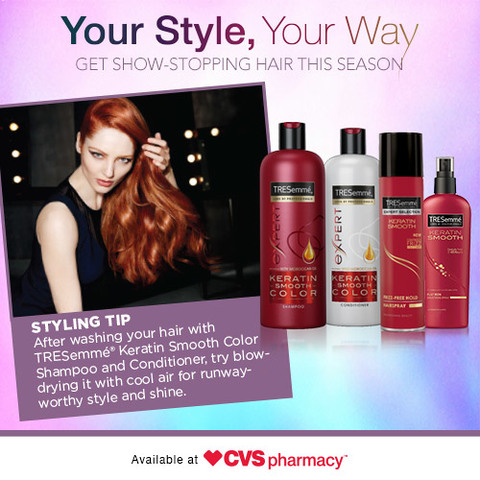 Your Style, Your Way with TRESemme at CVS