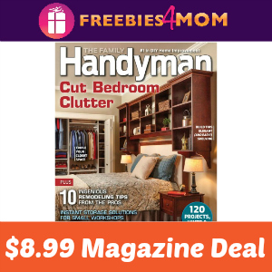 Magazine Deal: Family Handyman $8.99
