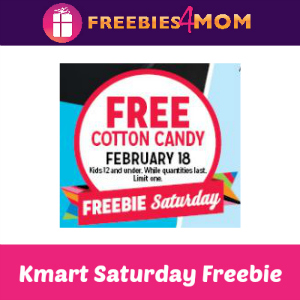 Free Cotton Candy at Kmart Feb. 18