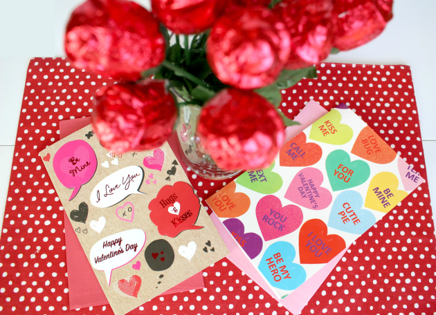 Valentine's Cards at Family Dollar
