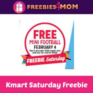 Free Mini Football at Kmart Feb. 4