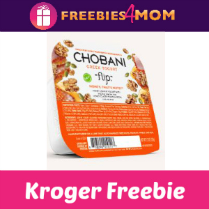 Free Chobani Greek Yogurt Flip at Kroger