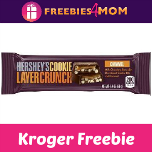Free Hershey's Cookie Layer Crunch Caramel Bar