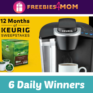 Sweeps 12 Months of Keurig