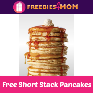 Free Short Stack Pancakes at IHOP March 7