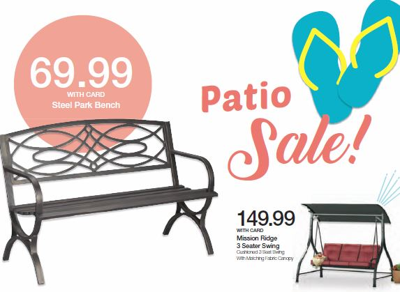 Kroger: Spring Patio Furniture