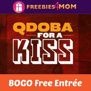 BOGO Free Qdoba Entrée on Valentine's Day