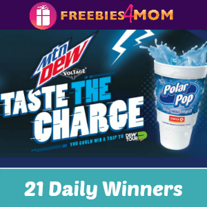 Sweeps Mtn Dew Voltage (21 Daily Winners)