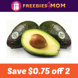 Coupon: $0.75 off two Avocados from Mexico