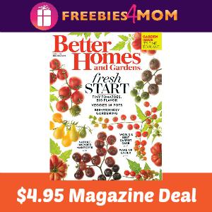 Magazine Deal: Better Homes & Gardens $4.95