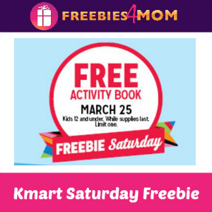 Free Activity Book at Kmart Mar. 25