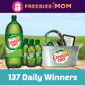 Sweeps Canada Dry Rewards