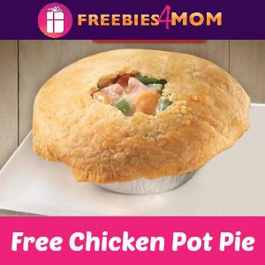 Free Rotisserie Chicken Pot Pie at Boston Market