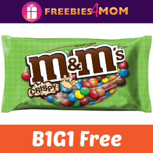 Coupon BOGO Free M&M's