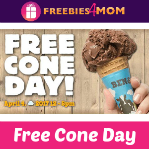 Free Cone Day at Ben & Jerry's April 4