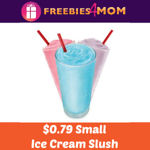 Sonic $0.79 Small Ice Cream Slush Mar. 22