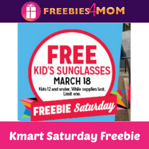 Free Kids Sunglasses at Kmart Mar. 18