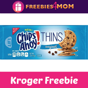 Free Chips Ahoy! Thins at Kroger