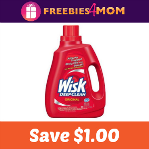 Coupon: $1.00 off one Wisk Detergent