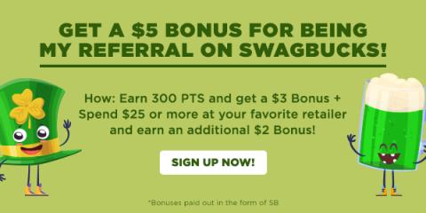 Get $5 for Joining Swagbucks