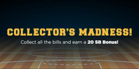 Swagbucks: March Madness Collector's Bills