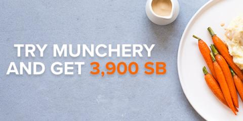 Swagbucks Get 3900 SB from Munchery