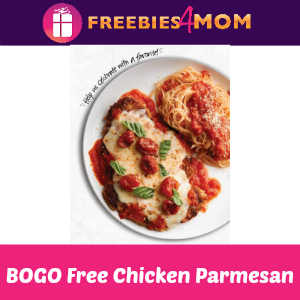 BOGO Free Chicken Parmesan at Macaroni Grill
