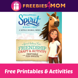 Free Spirit Riding Free Printables & Activities