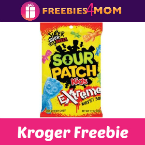 Free Sour Patch Kids Soft & Chewy at Kroger