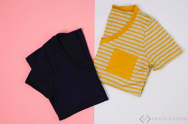 2 Non-Graphic Tees for $20